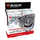 Magic: The Gathering Adventures in the Forgotten Realms Collector Booster Box   12 Packs (180 Magic Cards)