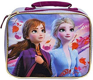 Frozen 2 Insulated School Lunch Bag - Elsa and Anna for Kids