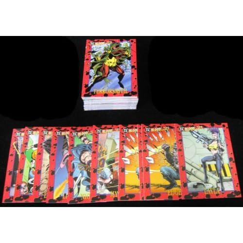 DC Bloodlines Complete 81 Card Base Set