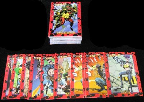 1993 Skybox DC Bloodlines Trading Card Set (81) NM/MT
