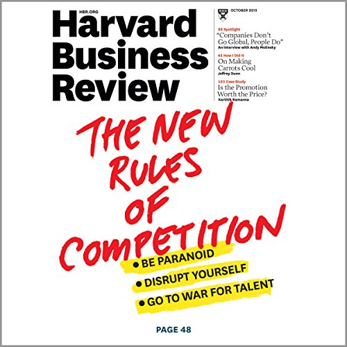 Harvard Business Review, October 2015 audiobook cover art
