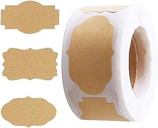 Washi Tape, NETUME 20 Rouleaux Ruban Adhésif Décoratif pour Artisanat Art, Blanc Noir Classique avec Motif Feuille Or Mask...