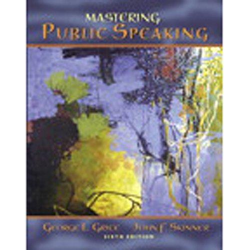 『VangoNotes for Mastering Public Speaking, 6/e』のカバーアート