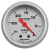 Auto Meter Automotive Replacement Vacuum Gauges