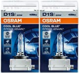 2x Original OSRAM D1S Xenarc Cool Blue Intense Xenon Burner 5000K 66144CBI 66144 35 Watt 20% More Light New Original Box