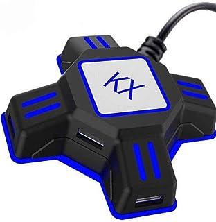 【令和2020最新版】アダプター キーボードマウス接続アダプター マウスコンバーター ゲーミングコントローラー変換 Nintendo Switch/PS4/PS3/Xbox One/対応