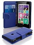 Cadorabo Hülle für Nokia Lumia 630/635 in KÖNIGS BLAU