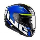 Casco de moto HJC RPHA 11 SPICHO MC2, Azul, S
