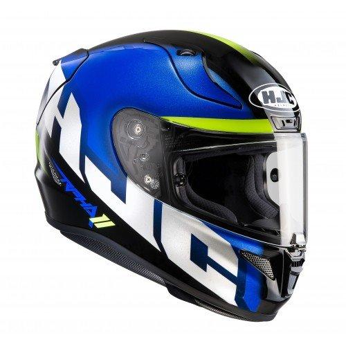 Casco de moto HJC RPHA 11 SPICHO MC2, Azul, L