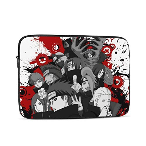Naruto Anime 13 inch Laptop Sleeve Case Bag Cover Slim Lightweight Shockproof Notebook Computer Pocket Case (No 10 12 Inch)