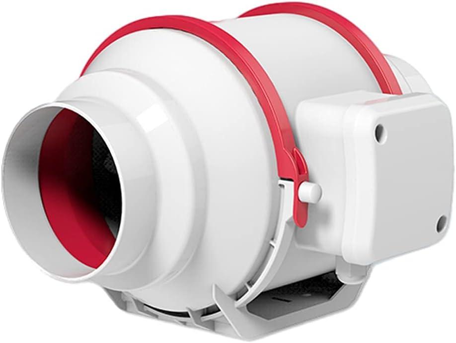 LITING Ventilador de ventilación doméstico Ventilador De Escape del Fanático De La Cocina del Ventilador De Techo del Baño De 4 Pulgadas