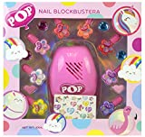 Markwins Pop Girl Nail Blockbuster - Kit De Manicura - Maquillaje De Uñas Para Niñas Y Kit...