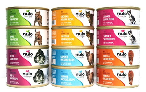 Nulo Freestyle Grain Free Wet Cat Food Variety Pack   Amazon