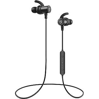 【aptX HD & AAC 対応】 SOUNDPEATS Q30 HD Bluetooth イヤホン 14時間連続再生 高音質 ワイヤレスイヤホン IPX7 防水 スポーツイヤホン QCC3034チップセット採用 CVC8.0ノイズキャンセリング搭載 ブルートゥース イヤホン サウンドピーツ Bluetooth ヘッドホン [IPX7防水証書取得済、メーカー1年保証] (ブラック)