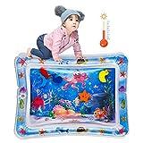 Sinwind Baby Wassermatte,Auslaufsicheres PVC Wassergefüllte Spielmatte für Baby Spielzeuge 3-9 Monate, Babyspielzeug für frühe Entwicklung des Säuglings