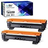 LxTek Compatible Reemplazo para Brother TN1050 TN 1050 Cartuchos de tóner para Brother HL-1210W HL-1212W HL-1110 HL-1112 DCP-1510 DCP-1512 DCP-1610W DCP-1612W MFC-1810 MFC-1910W Impresora (2 Negro)