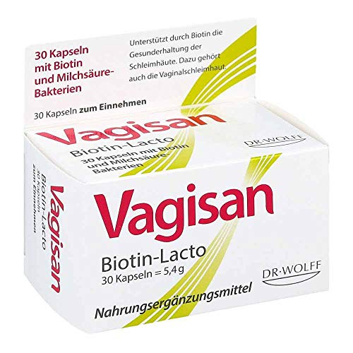 Vagisan Biotin-Lacto Kapseln, 30 St. Kapseln