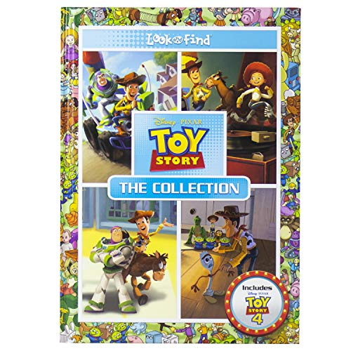 Disney Pixar - Toy Story Look and Find Collection - Includes Toy Story 4 - PI Kids