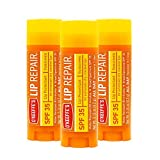O'Keeffe's Lip Repair SPF 35 Lip Balm, (Pack of 3)