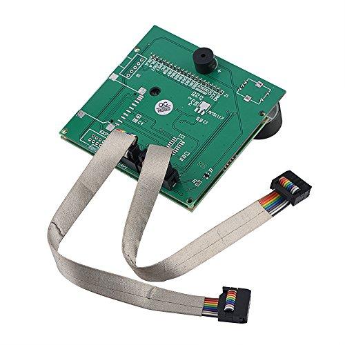 Tangxi Schermo LCD Universale per Stampante 3D, Pannello di Controllo RAMPS 1.4 Smart Display con 2 Cavi, Display LCD di Ricambio per Stampante 3D Creality CR-10S