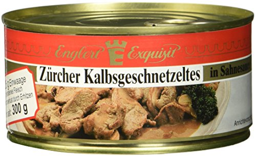ENGLERT Zürcher Kalbsgeschnetzeltes/Dose, 1er Pack (1 x 300 g)