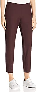 Eileen Fisher Cassis Washable Stretch Crepe Slim Ankle Pant Size XL MSRP $168