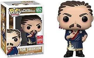 Funko Pop! Television #652 Parks & Recreation Ron Swanson Cornrows (2018 Summer Convention Exclusive)