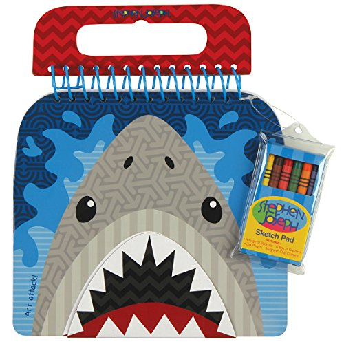 Stephen Joseph Shaped Sketch Pad Shark
