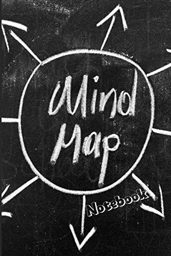 Mind Map - das Mind Map Buch ist zum Ideen Sammeln und zum Brainstorming geeignet   die Perfekten Vorlagen zur Denkhilfe: Mind Mapping und ... bildlich und schriftlich anwenden