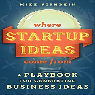 Where Startup Ideas Come From audiobook cover art
