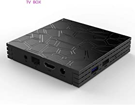 JJWL Android 9.0 TV Box, Newest Box Smart 4GB RAM 64GB ROM Media Player Support 4K H.265 100M LAN Internet 2.4/5.8GHz WiFi 3D Set Top Box with USB 3.0