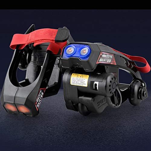 JRYⓇ Rollschuhe - Neuestes Upgrade Elektro-Skates Kann automatisch verstellbare Fersenrad-Rollschuhe Laufen, für Unisex im Innen- und Außenbereich, Erwachsene