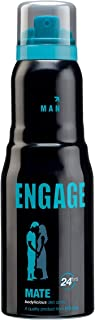 Engage Mate Deodorant For Men, 165ml /110g