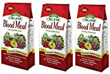 Espoma DB3 Dried Blood Meal, 3 Pound, 3 Pack