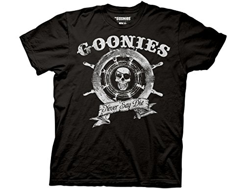 The Goonies Captain's Wheel Adult T-Shirt - S to 3XL