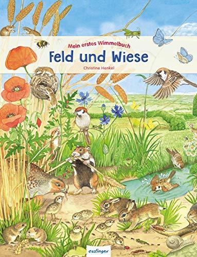 Mein erstes Wimmelbuch - Feld und Wiese: Wuselige interaktive Bücher