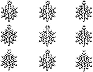 Best snowflake charm gold Reviews