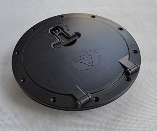 RIYIN 8 Inch Hole Diameter Deck Hatch with Cat Bag for Kayak Boat Fishing Rigging