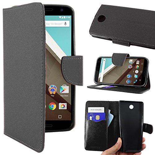 ebestStar - Funda Compatible con Motorola Nexus 6, Nexus X Carcasa Cartera...