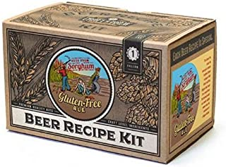 Craft a Brew Ingredient 1 Gallon Gluten Free Ale Recipe Kit – Make Your Own Beer with Home Brewing 1 Gal