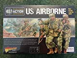 Bolt Action US Airborne Starter Army 1:56 WWII Military Wargaming Plastic Model Kit