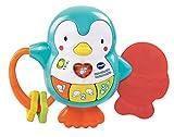 Vtech Baby Little Friendlies - Pingüino musical para bebé, sonajero y...