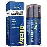 AOBBIY Men's Ball Deodorant, Anti Ball Sweating and Stink, Anti-Chafing, Refresh...