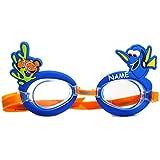 alles-meine.de GmbH 3-D Effekt _ Schwimmbrille / Chlorbrille / Taucherbrille -  Disney Findet Nemo -...