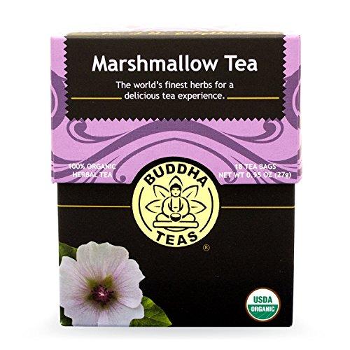 Buddha Teas Marshmallow Tea, 18 Count (Pack of 6)