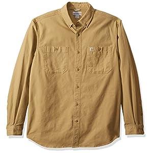 Men's Rugged  Long Sleeve Work Shirt