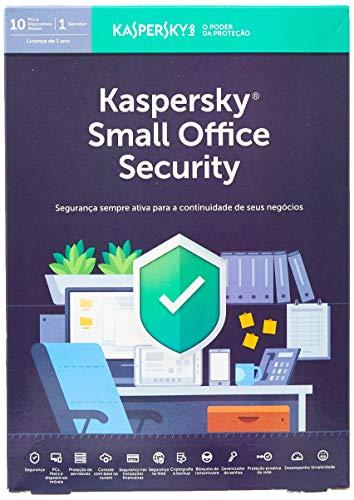 Kaspersky Small Office Security 10 Usuários + 1 Servidor, KL4535K5KFS