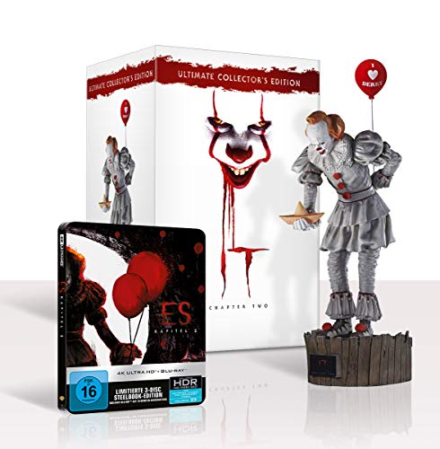 ES KAPITEL 2 Ultimate Collector's Edition (Steelbook und Pennywise Sammlerfigur) Exklusiv bei Amazon.de [Blu-ray]