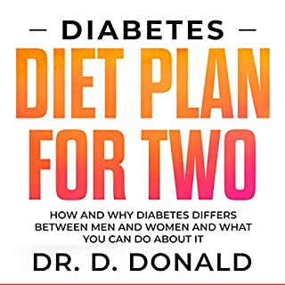Diabetes Diet Plan for Two     How and Why Diabetes Differs Between Men and Women and What You Can Do about It              Written by:                                                                                                                                 Daniel Donald                               Narrated by:                                                                                                                                 Sangita Chauhan                      Length: 1 hr and 21 mins     Not rated yet     Overall 0.0