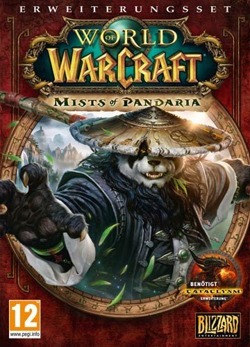 Blizzard World of Warcraft: Mists of Pandaria, PC